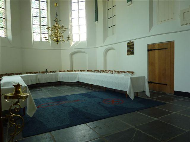 Weblog.kerk loosdrecht damast bij vertrek
