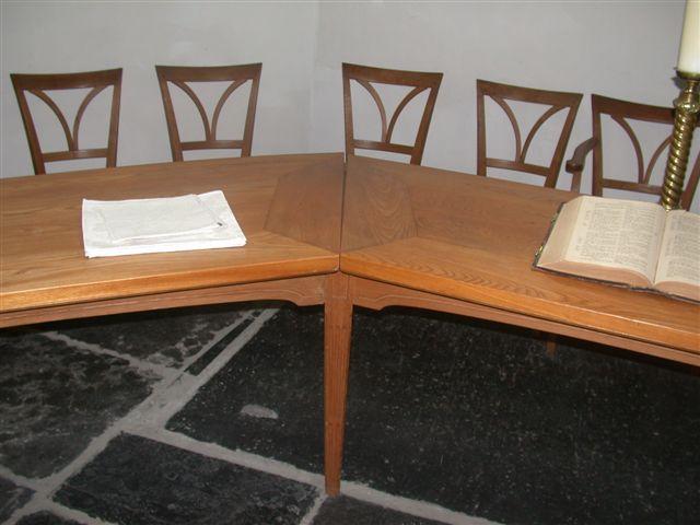 Weblog.kerk loosdrecht. hoek tafel